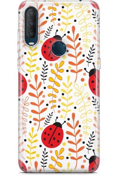 Melefoni Alcatel 1s 2020 Uyumlu Ladybug Serisi Uv Baskılı Silikon Kılıf Ariel