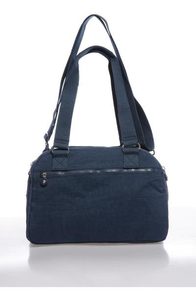 Smart Bags SMBK1122-0033 Lacivert Kadın Omuz Çantası