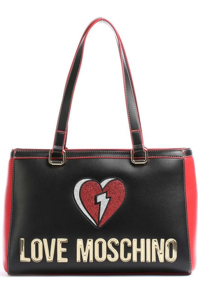 Love Moschino JC4256PP0BKJ0 Siyah Kadın Omuz Çantası
