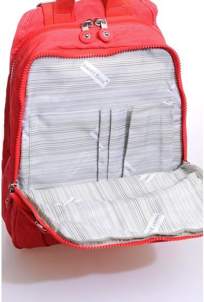 Smart Bags SMBKK1167-1019 Kırmızı Kadın Sırt Çantası