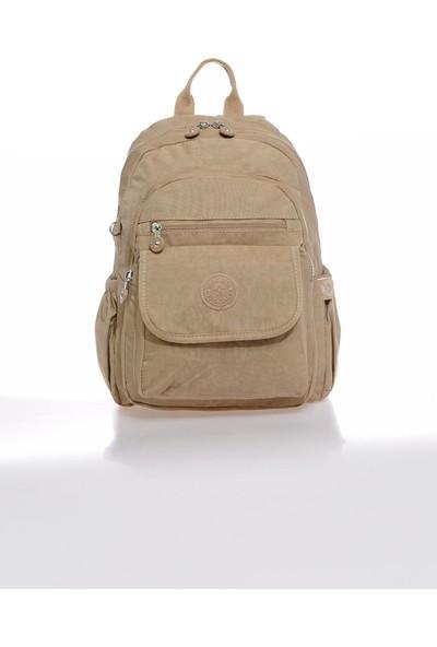 Smart Bags SMBKY1187-0015 Vizon Kadın Sırt Çantası