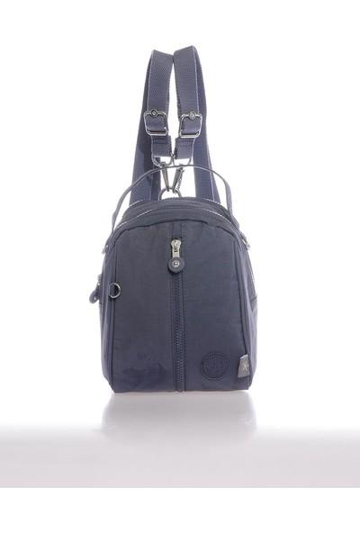Smart Bags SMB3053-0089 Füme Kadın Minik Sırt Çantası