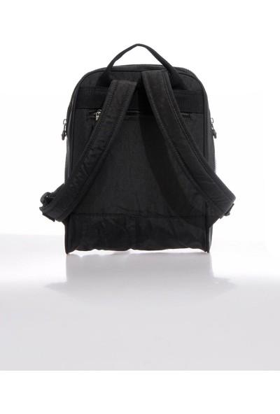 Smart Bags SMBKY1117-0001 Siyah Kadın Sırt Çantası