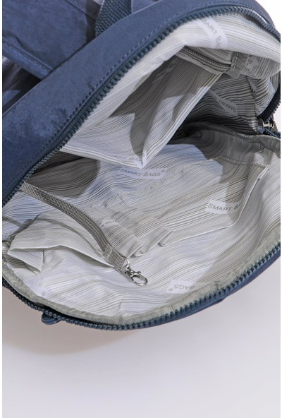 Smart Bags SMB3060-0033 Lacivert Kadın Sırt Çantası