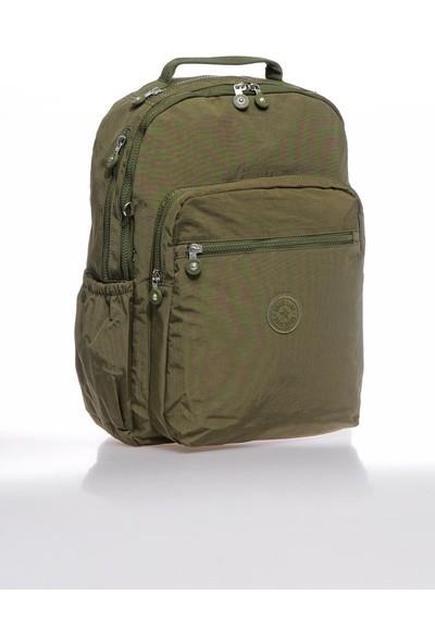 Smart Bags SMBKY1019-0029 Koyu Yeşil Kadın Sırt Çantası