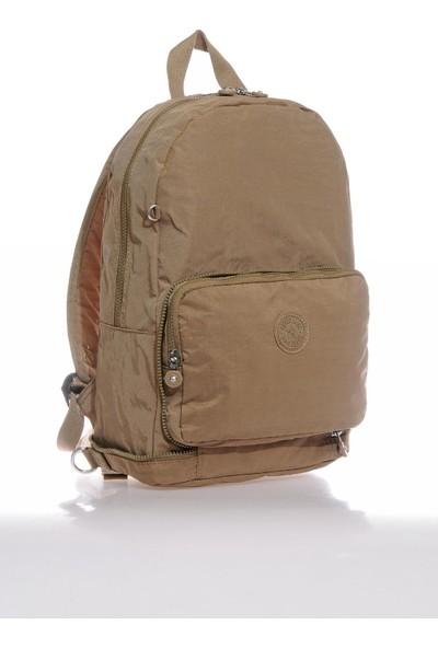 Smart Bags SMB3080-0007 A.kahverengi Kadın Katlanabilir Sırt Çantası