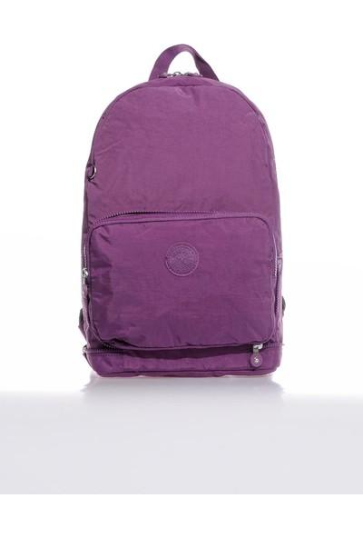 Smart Bags SMB3080-0027 Mor Kadın Katlanabilir Sırt Çantası