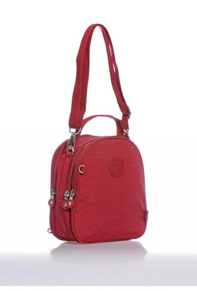 Smart Bags SMB3063-0021 Bordo Kadın Sırt Çantası