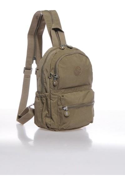 Smart Bags SMBK1030-0007 A.kahverengi Kadın Küçük Sırt Çantası