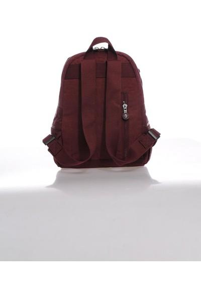 Smart Bags SMBK3085-0021 Bordo Kadın Sırt Çantası