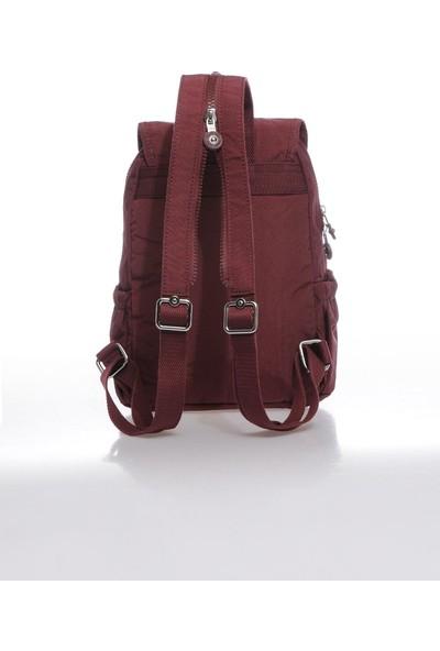 Smart Bags SMBK1138-0021 Bordo Kadın Sırt Çantası