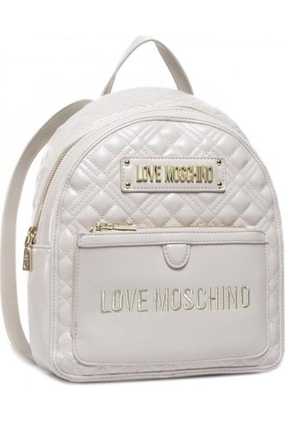 Love Moschino JC4202PP0BKA0 Bej Kadın Sırt Çantası