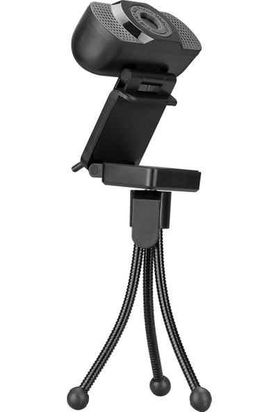 Everest SC-HD02 1080P Full Hd Auto Focus Metal Tripod ve Hassas Dahili Mikrofonlu Webcam USB Pc Kamera