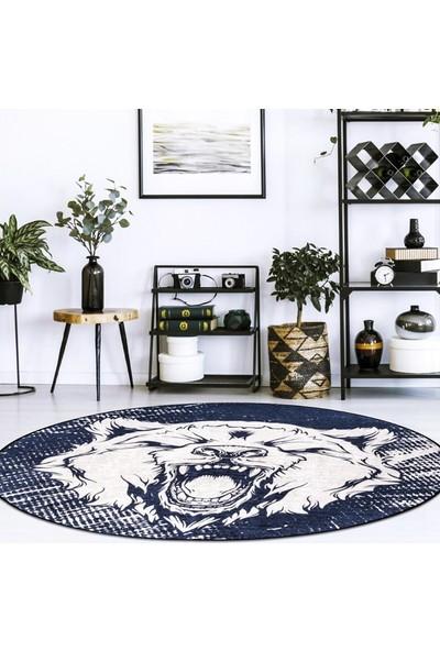 Vıpgross Ayı Figürlü Halı 140 x 140 cm