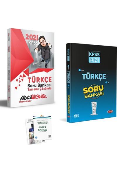 Hocawebde 2021 KPSS Türkçe Soru Bankası ve Data Türkçe Soru Bankası
