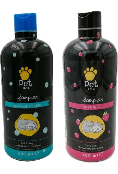 Pet Love Çilek Özlü Kedi ve Köpek Şampuanı 400 ml