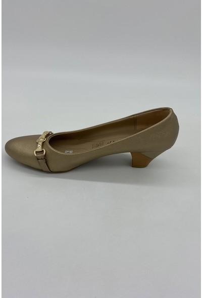 De Scarıo 152 Gold Günlük Ayakkabı