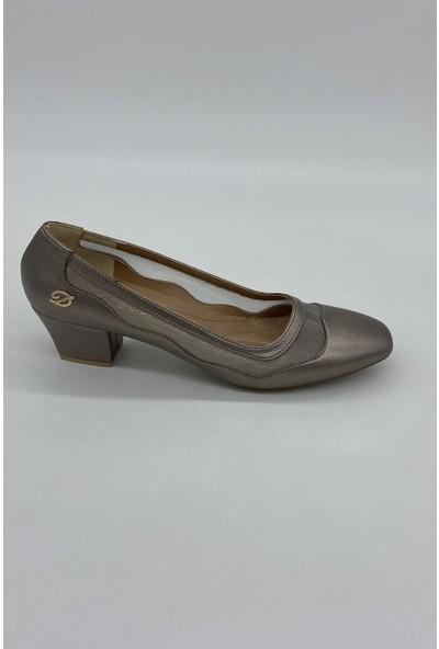 De Scarıo 133 Vızon Tül Sade Günlük Ayakkabı