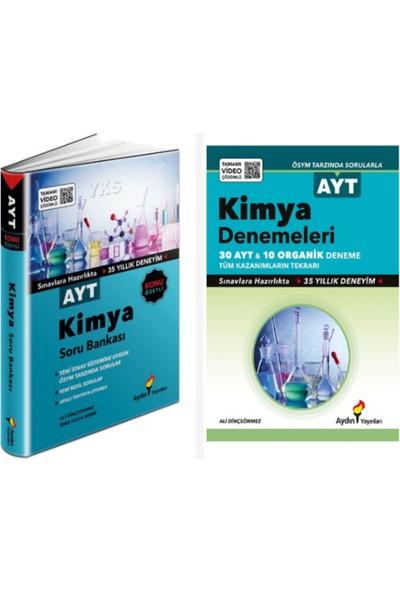 Aydın Yayınları AYT Kimya Soru Bankası ve Aydın Yayınları AYT Kimya Deneme