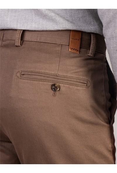 Dufy Erkek Pantolon - Regular Fit Vizon