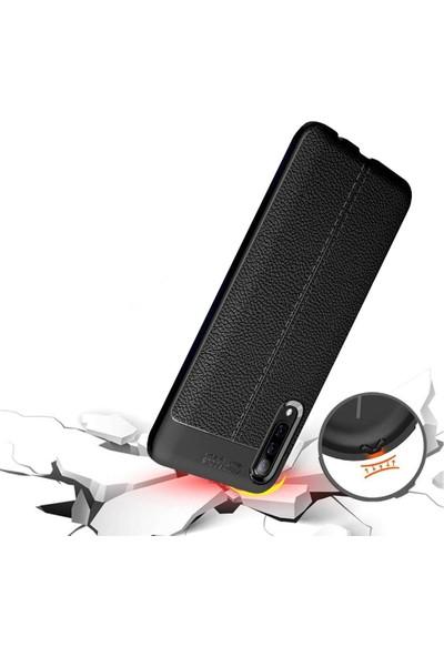 Case Markt Apple Apple iPhone Xr Elegance Deri Dokulu Ultra Ince Silikon Telefon Kılıfı