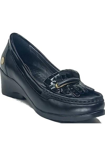 Mammamia 145 Deri Topuklu Kadın Ayakkabı