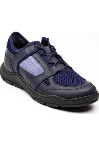 James Franco 5983 Lacivert Deri Günlük Erkek Ayakkabı