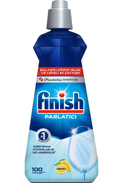 Finish Bulaşık Makinesi Parlatıcı Limon 400 ml
