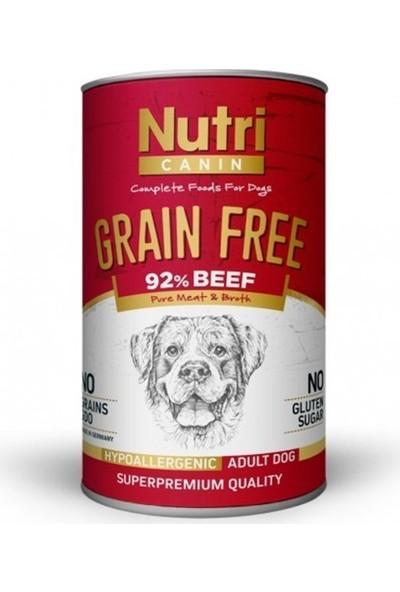 Nutri Canin Nutri Canine Tahılsız Biftekli Patatesli Köpek Konservesi 400 gr 20'li Set Idili