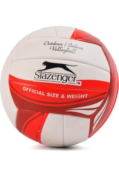 Slazenger Kırmızı-Beyaz Voleybol Topu