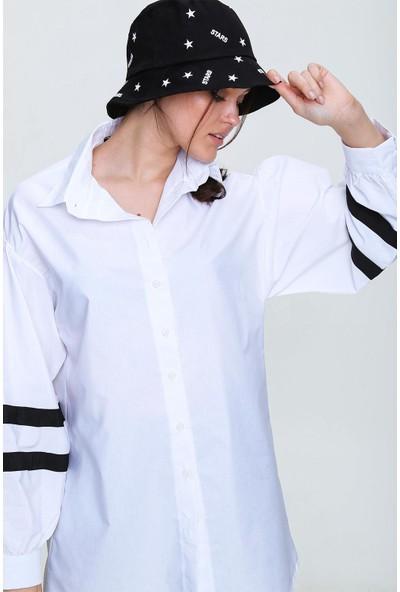 Pinkpark Kadın Siyah Desenli Bucket Şapka SMD-A2195