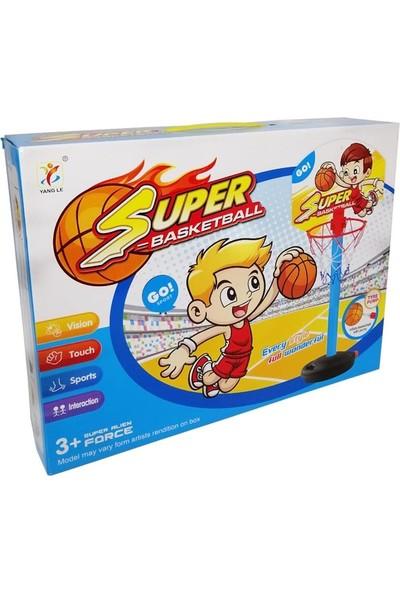 Toru Toys Torutoys Torutoys Kutulu Ayaklı Basket Oyuncak Potası