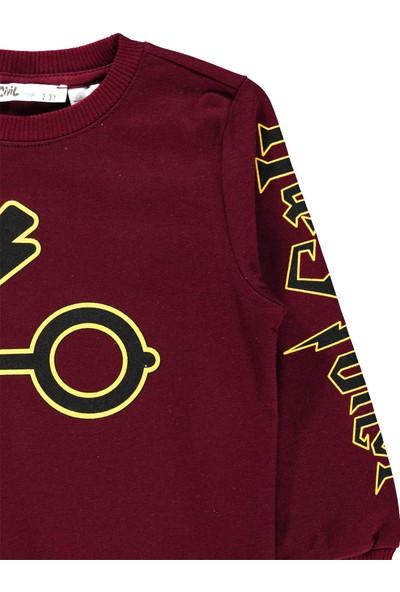 Harry Potter Erkek Çocuk Sweatshirt 2-5 Yaş Bordo