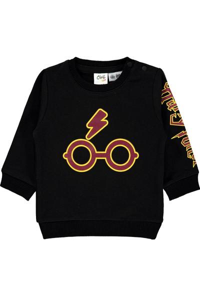 Harry Potter Erkek Bebek Sweatshirt 6-18 Ay Siyah
