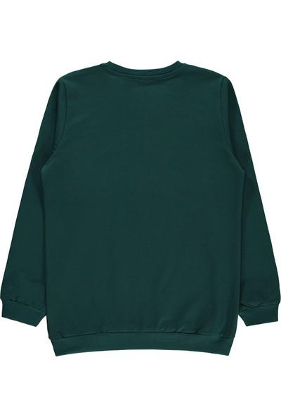 Harry Potter Erkek Çocuk Sweatshirt 10-13 Yaş Yeşil