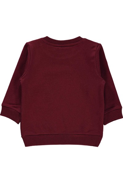 Harry Potter Kız Bebek Sweatshirt 6-18 Ay Bordo