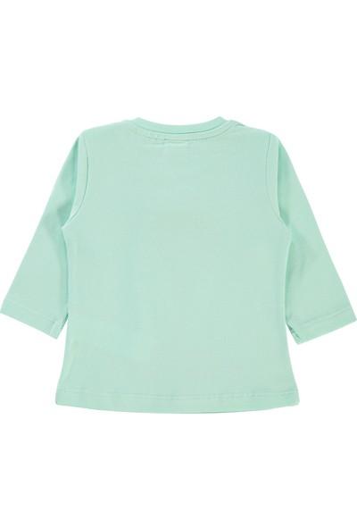 Tweety Kız Bebek Sweatshirt 6-18 Ay Mint Yeşili