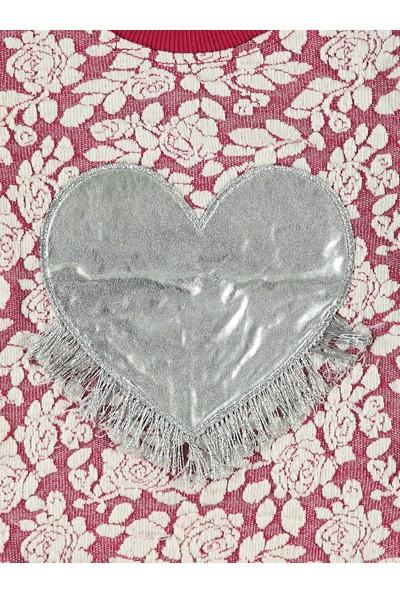 Tuffy Kız Bebek Sweatshirt 6-24 Ay Pembe