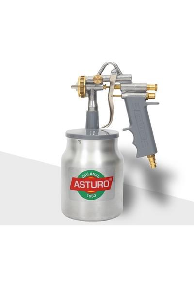 Asturo Boya Tabancası G70 Alttan Depo 1,8 mm