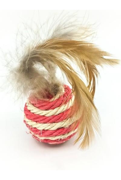Kedi Köpek Oyun Topu Tüylü Hacı Yatmaz Oyuncak