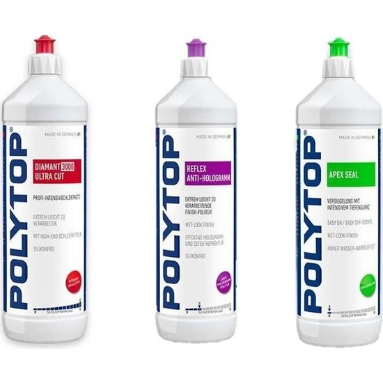 Polytop 3000 + Antihologram + Apex Seal Pasta Cila Seti 1 Lt
