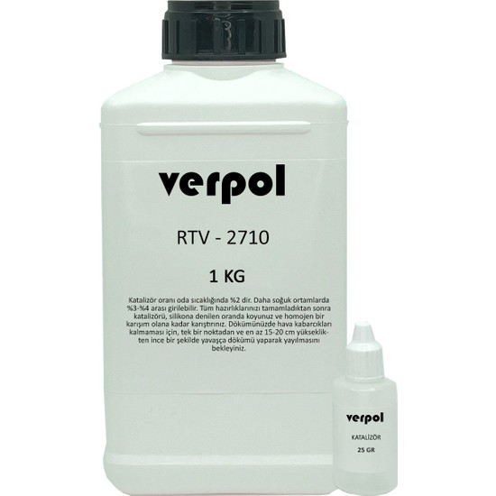 Verpol Rtv-2 Kalıp Silikonu 1 kg