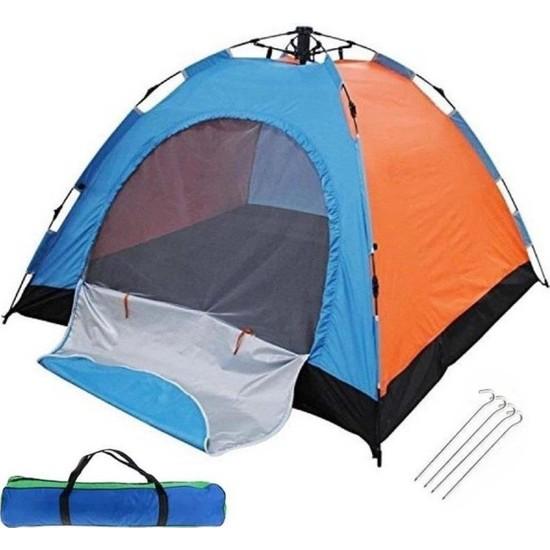 Zfr 3 Kişilik Kamp Çadırı Çantalı Sineklikli