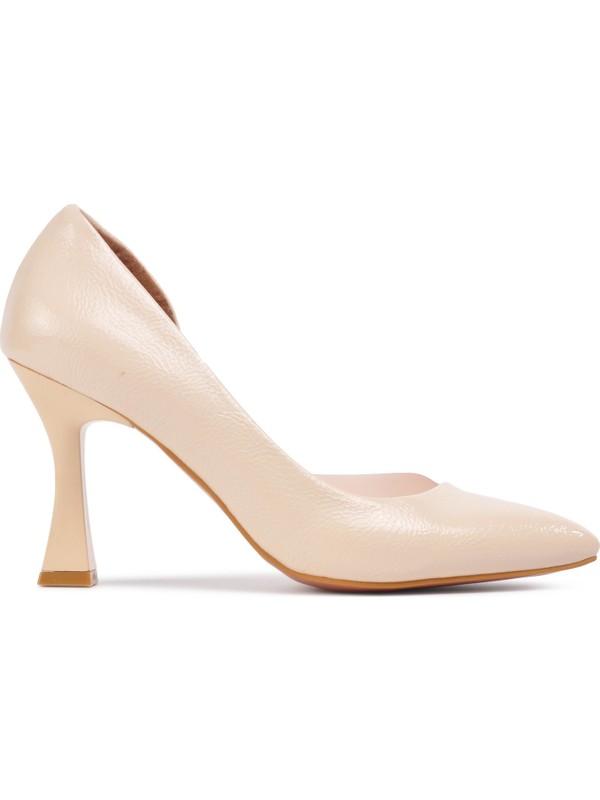 Park Moda 653 Ten K.rugan Kadın Topuklu Ayakkabı