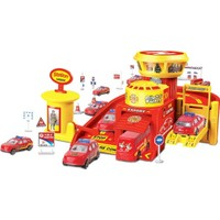 Maxx Wheels 3 Araçlı Garaj Seti - İtfaiye Oyun Seti
