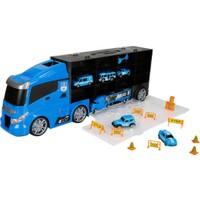 Maxx Wheels Çantalı Transporter 60 cm - Mavi