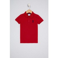 U.S. Polo Assn. Erkek Çocuk Kırmızı T-Shirt Basic 50232279-VR171