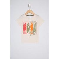 U.S. Polo Assn. Erkek Çocuk Beyaz T-Shirt 50235341-VR071