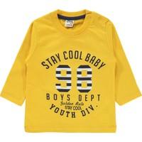 Civil Baby Erkek Bebek Sweatshirt 6-18 Ay Hardal