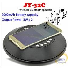 Yukka Siyah Taşınabilir Stereo Nfc Kablosuz Şarj Bluetooth Hoparlör (Yurt Dışından)